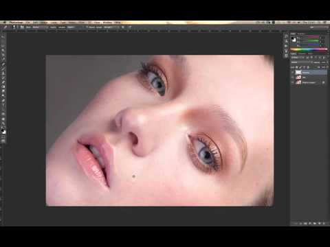 Cleaning up skin with photoshop