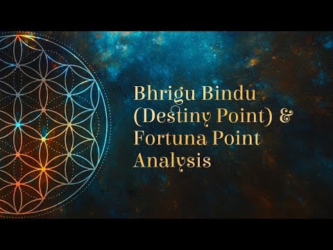Bhrigu Bindu (Destiny Point) and Fortuna Point Analysis