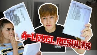 OPENING MY GIRLFRIENDS A LEVEL RESULTS (AND SHE OPENS MINE!)