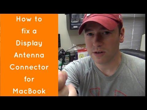 Macbook Display Antenna Connector Repair (Air and Retina Models)