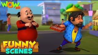 BEST SCENES of MOTU PATLU | FUNNY Cartoons in Hindi | Wow Kidz | Compilation 13