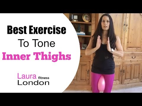 Best Exercise To Tone Inner Thighs - One Minute Fitness