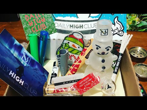 Daily High Club Subscription Unboxing (Christmas Box!!!)