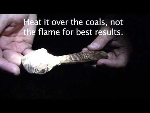 How To Coal Burn and Carve a Spoon