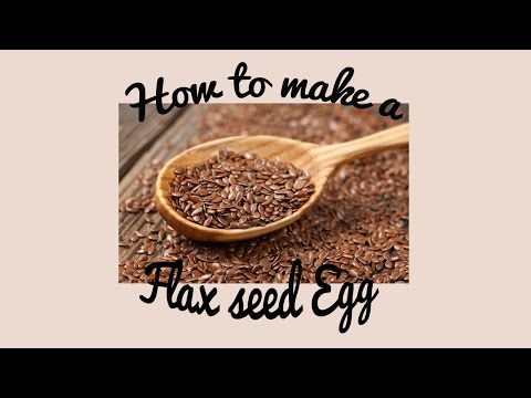 How to make a Flax Egg (Egg replacer) Easy and Cheap Vegan and Gluten Free