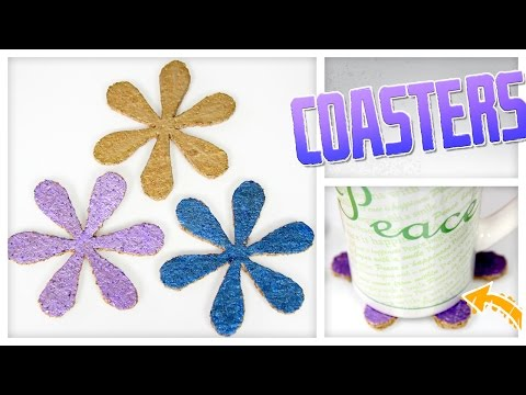 DIY Cork Coasters! - Do It, Gurl