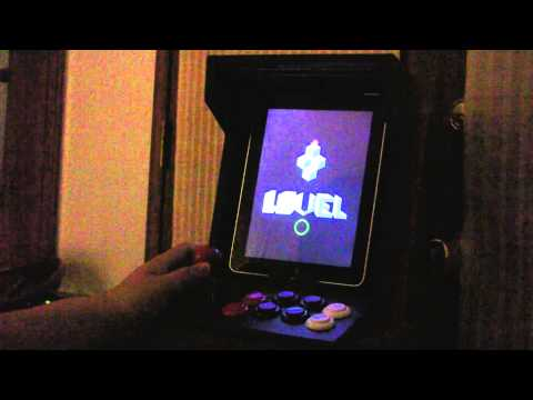 iON's iCade running iMAME4all / MAME Retro Arcade Games HD