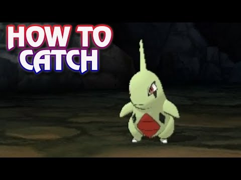 Pokemon Ultra Sun and Ultra Moon - How To Catch Larvitar