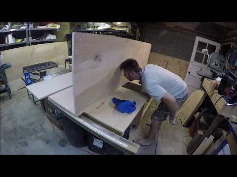 How To Build Kitchen Cabinets PT.1 | THE HANDYMAN |