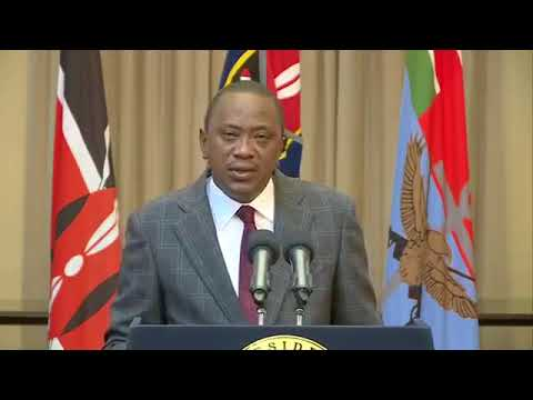Most critical part of Uhuru's speech after NRM introduction by NASA