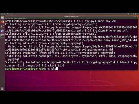 How To Install Python PyMySQL Client Library In Ubuntu Linux