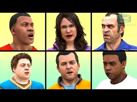 GTA 5 - All Friend Conversations
