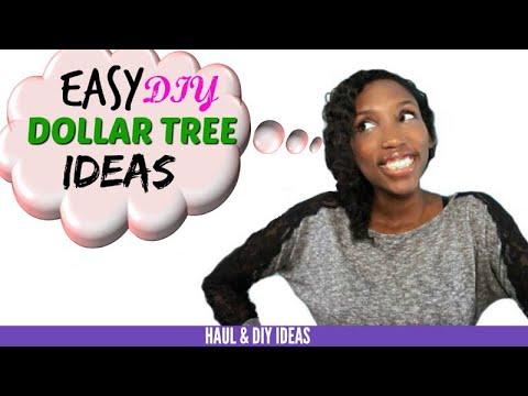 5 DIY Dollar Tree Ideas | Dollar Tree Haul & Diy Ideas
