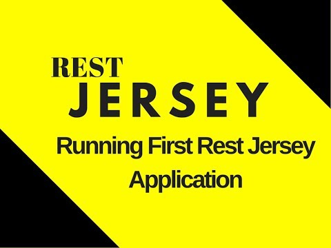 #2 Restful Web Services Tutorial | Running our First Rest Jersey Application