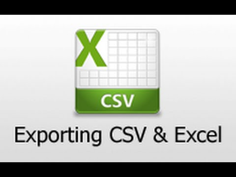 Ruby on Rails - Railscasts #362 Exporting Csv And Excel