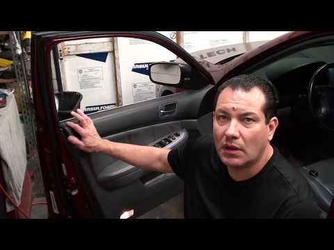 How to replace door lock actuator on a 2003-2007 Honda Accord (driver's door)