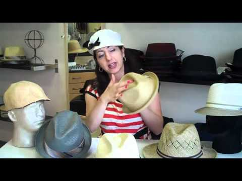 How to Pick a Straw Hat (Men)