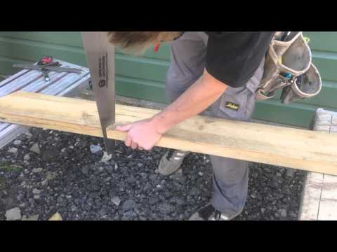 New Roofing Square: How To Build a Pitched Roof