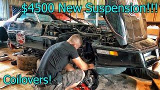 Rebuilding a Destroyed ZR1 Corvette Part 6