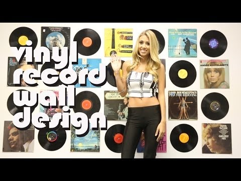 DIY Decorate Your Room With Vintage Vinyl Records