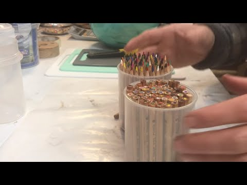 MAKING A PENCIL BLANK AND POT!