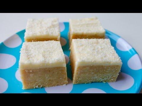 How to make coconut lemon slice