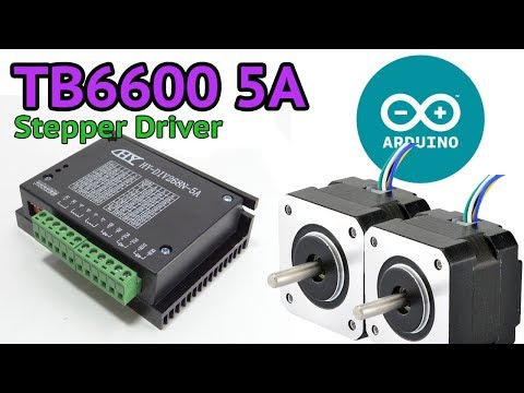 TB6600 5A Stepper motor driver and Arduino