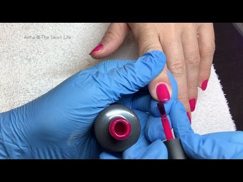 Shellac strengthening coat + Entity Color Couture