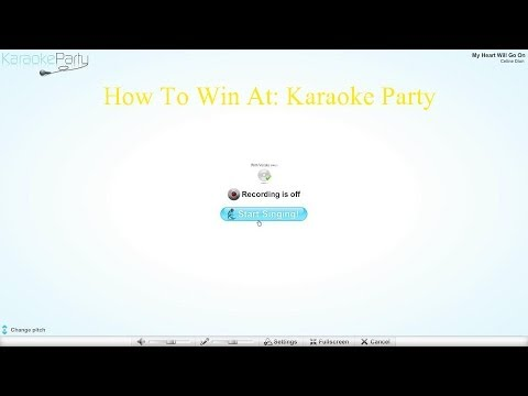 How To Win At: Karaoke Party