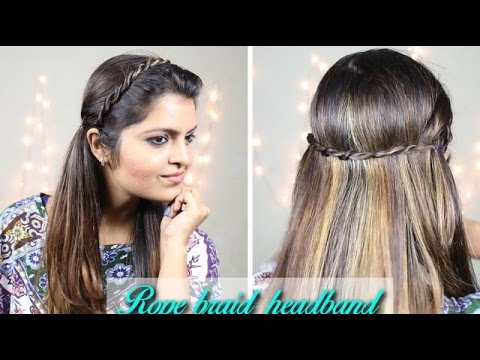 Braided Hairstyles | DIY | Rope Braid Headband