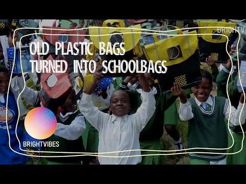 Repurpose Schoolbags offer children a brighter future