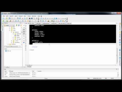 CodeIgniter Tutorials: Basic Website - URL Helper (Part 4/8)