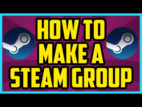 How To Make A Group On Steam WORKING 2017 - How To Create Your Own Group On Steam Tutorial
