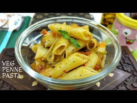 Penne Pasta in Spicy Veg Sauce | Veg Pasta Recipe | How to make penne pasta