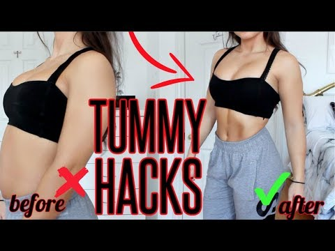 How To Get A FLAT STOMACH ! Flat Stomach Life Hacks YOU NEED TO KNOW !