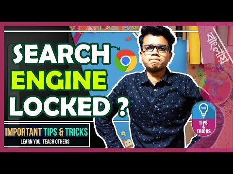 Fix Unchangeable (Locked) Default Search Engine in Chrome (Windows Only) | Tech Biporit