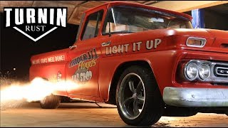 Light It Up | 1962 Chevy C10 Patina Shop Truck | Turnin Rust Episode 7