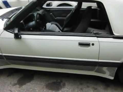1989 Saleen Mustang Convertible 338 for sale...walk around start-up