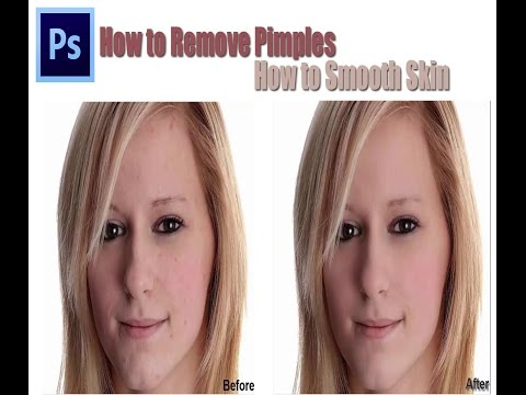 Photoshop Tutorial: How to Remove Pimples | How to Smooth Skin | Hamza Ali Shahid