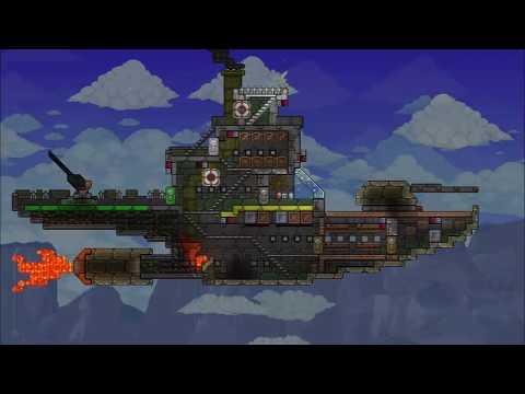 Terraria: Steampunk Airship