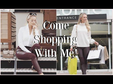 Come Shopping With Me!  McArthurGlen Designer Outlet & HAUL!   |  Fashion Mumblr  #VLOGTOBER