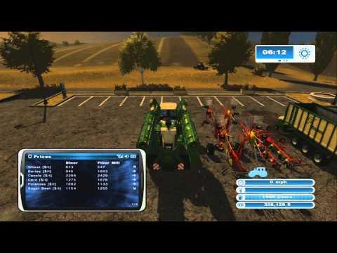 Farming Simulator XBOX 360 American Map S1 E17 Cows