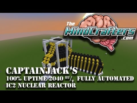 100% uptime 2040 output IC2 nuclear reactor - (Tekkit lite)