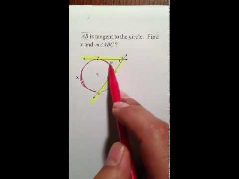Moya Math Geometry (Finding Arcs and Angles Outside Circles)