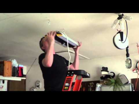 How to Install a Big Ass Garage Light
