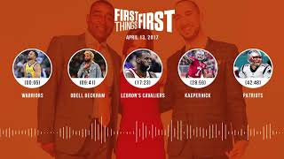 First Things First audio podcast(4.13.18) Cris Carter, Nick Wright, Jenna Wolfe | FIRST THINGS FIRST