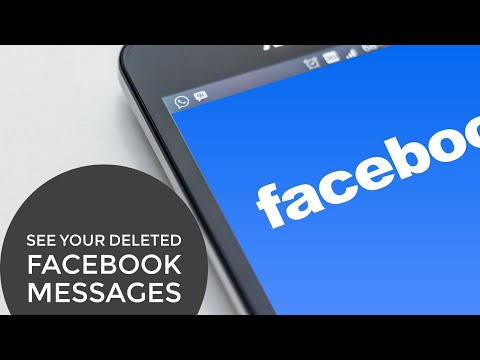 How to see Your Deleted Facebook Messages