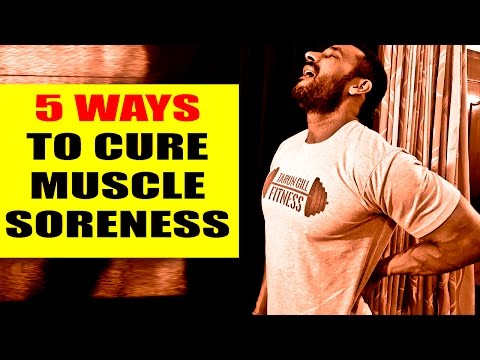 5 ways to cure muscle soreness