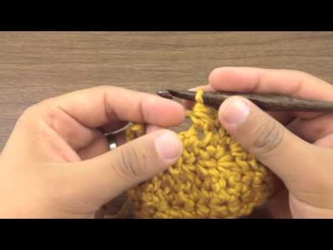 How to Crochet the Half Double Crochet Two Together Decrease (hdc2tog)