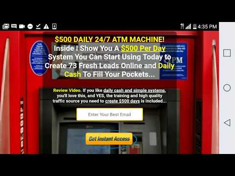 How To Make 500 Dollars Today With Websites, The 247 Viral Cash Systems Power Lead System